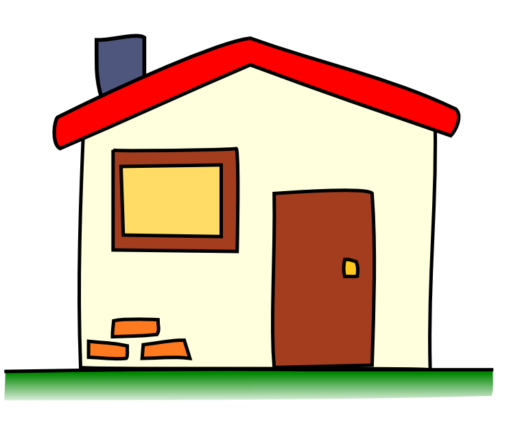 742x632 Picture Of Cartoon House Clipart Best, Cartoon Home