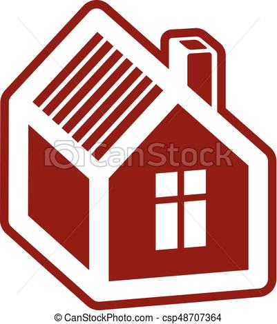 401x470 Simple Mansion Vector Icon Isolated On White Background, Clip
