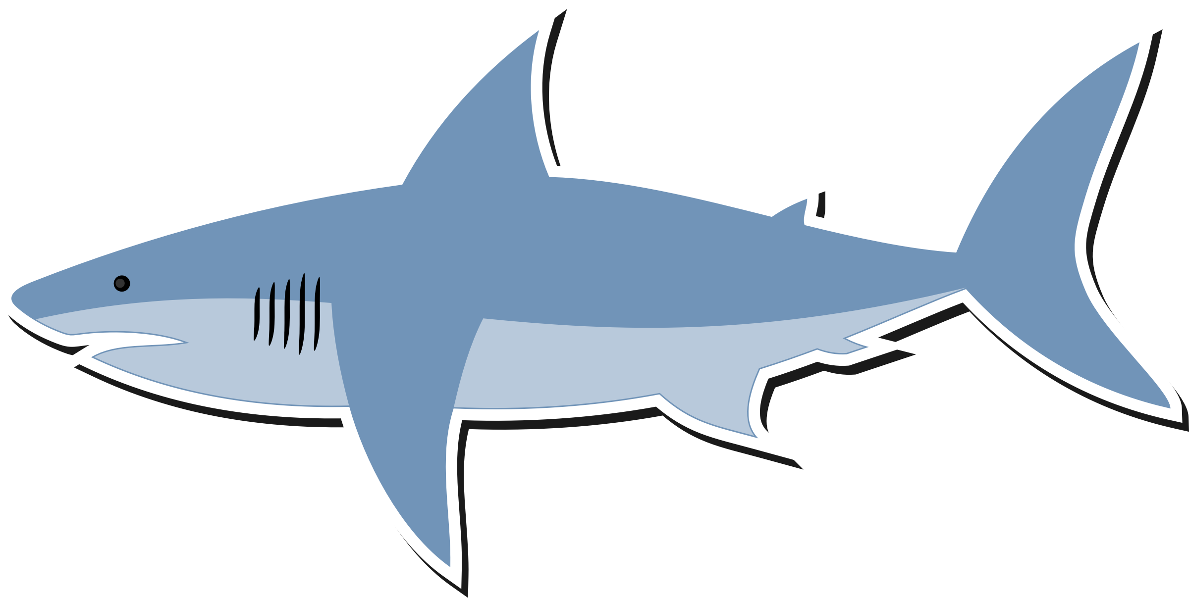 White Shark Clipart at GetDrawings | Free download