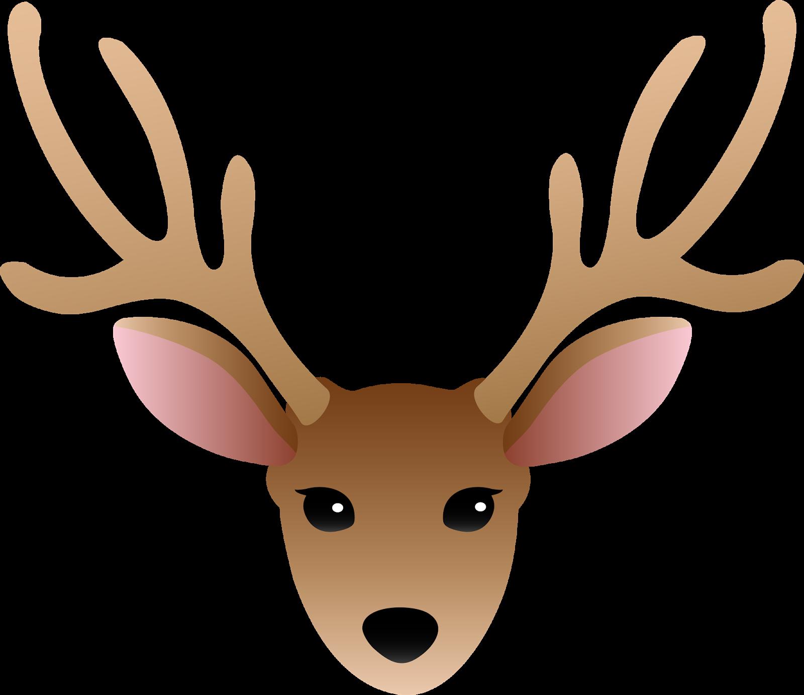 1600x1382 Deer Clipart Easy