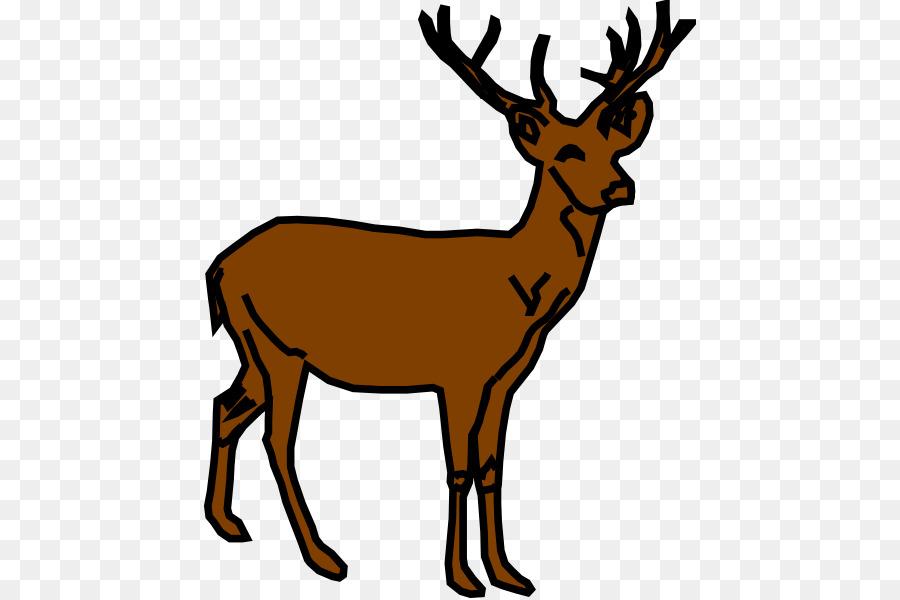 900x600 White Tailed Deer Moose Reindeer Clip Art