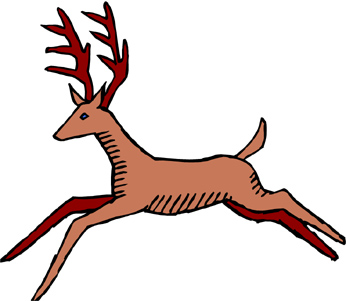 350x301 Deer Horn Cliparts