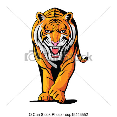 450x448 Stylish Idea Tiger Clipart Vector Search Illustration Drawings