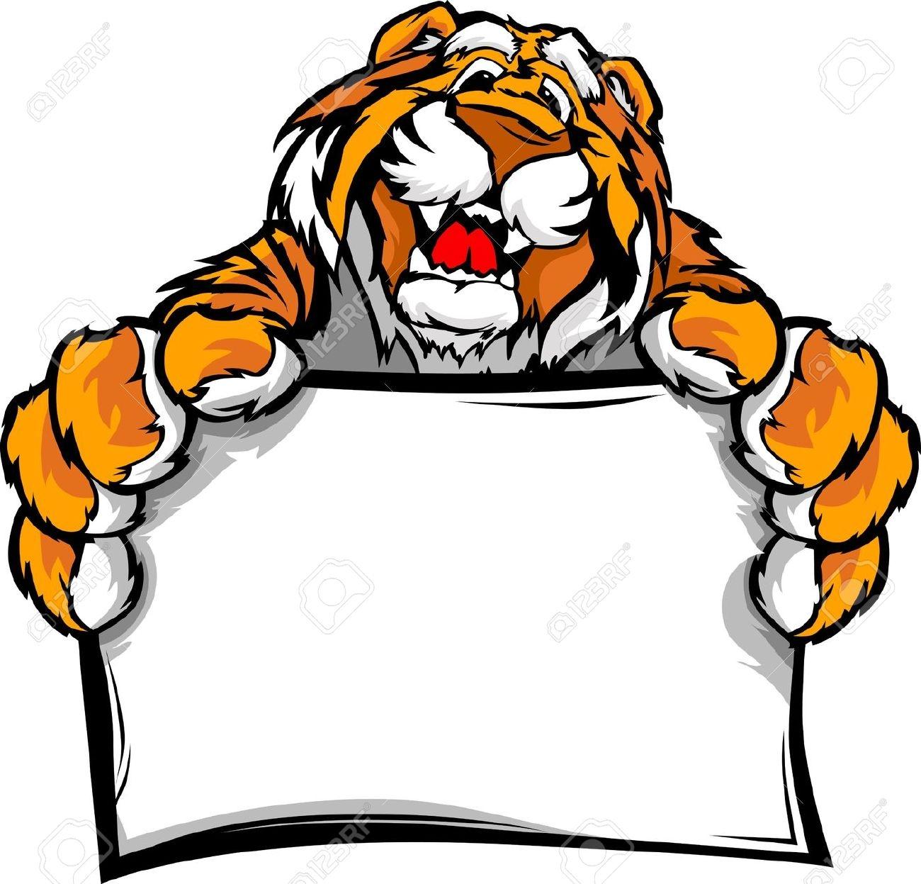1300x1247 Clip Art Tiger Clip Art