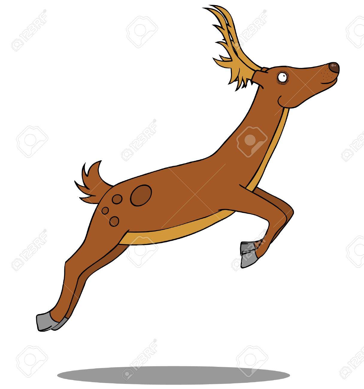 1216x1300 Running Deer Clipart Amp Running Deer Clip Art Images