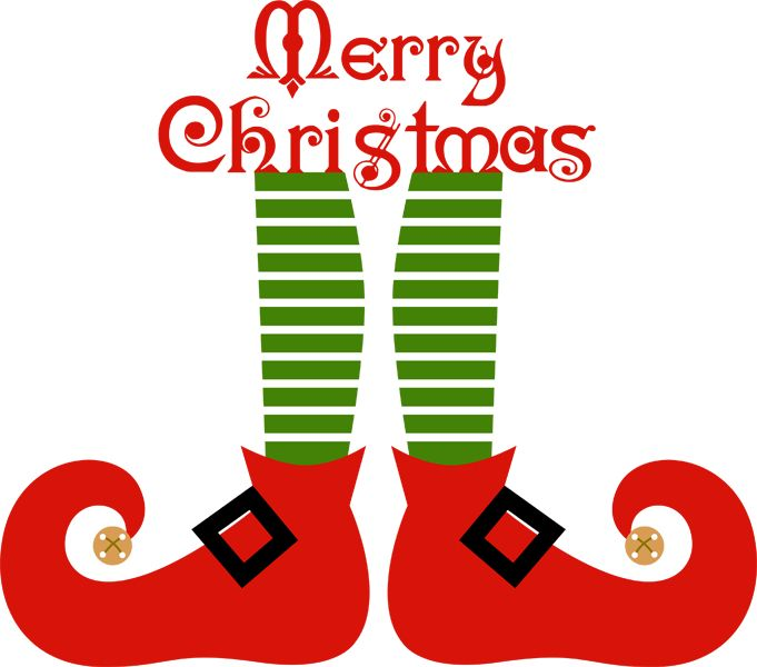 681x600 Art Christmas Elf Shoe Cliparts