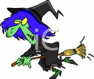 300x254 A Cartoon Of A Wicked Witch