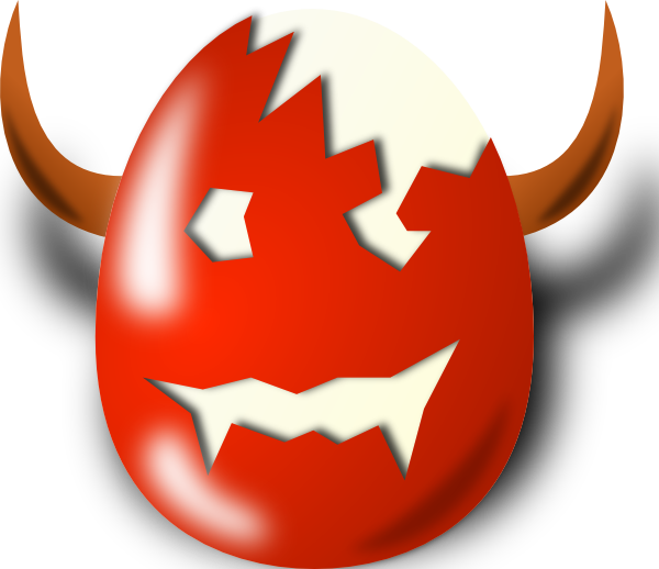 600x518 Wicked Easter Clip Art