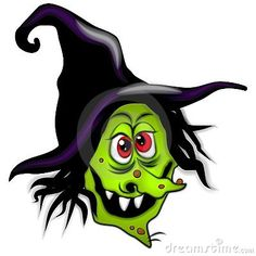 236x236 Wicked Witch Clip Art Vector Cartoon Graphic Depicting A Witch'S