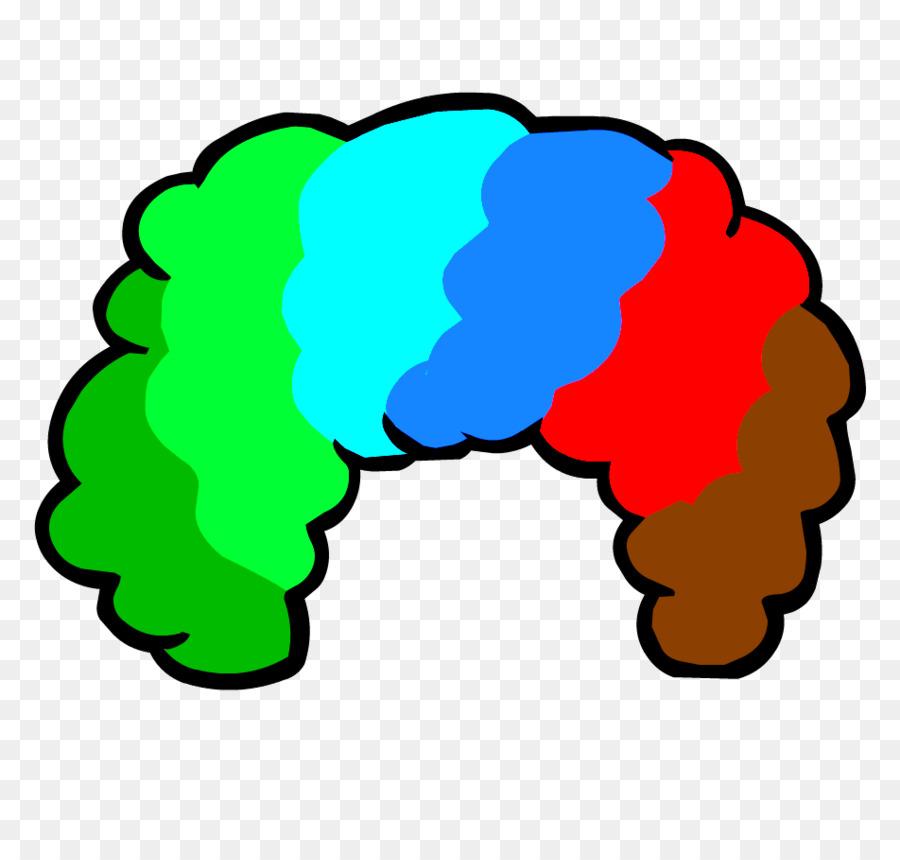 900x860 Clown Wig Clip Art