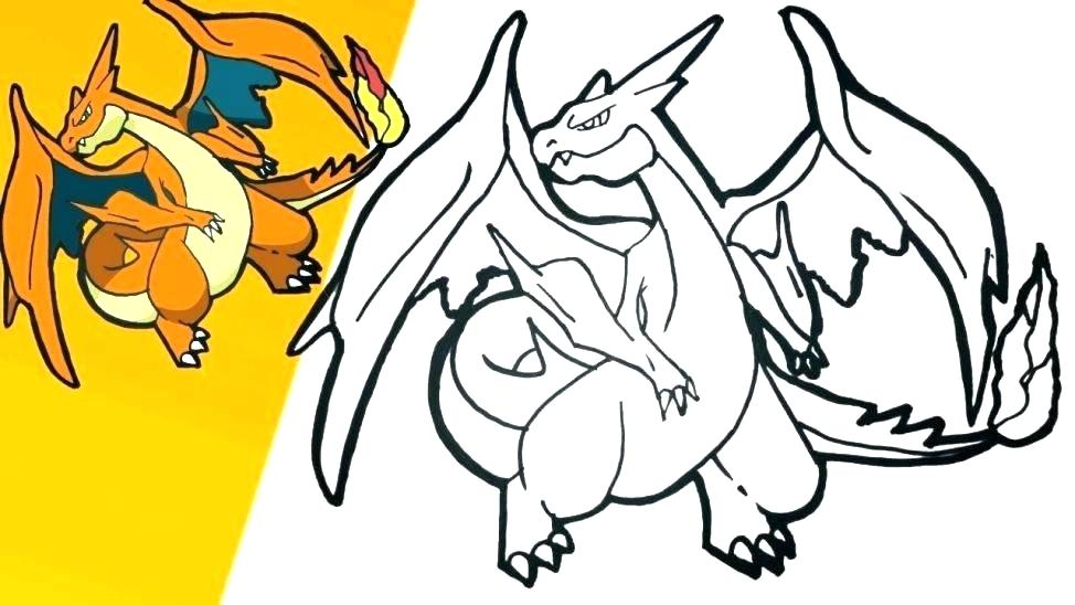 974x548 Charizard Coloring Pages Coloring Pages Frying With His Flaming