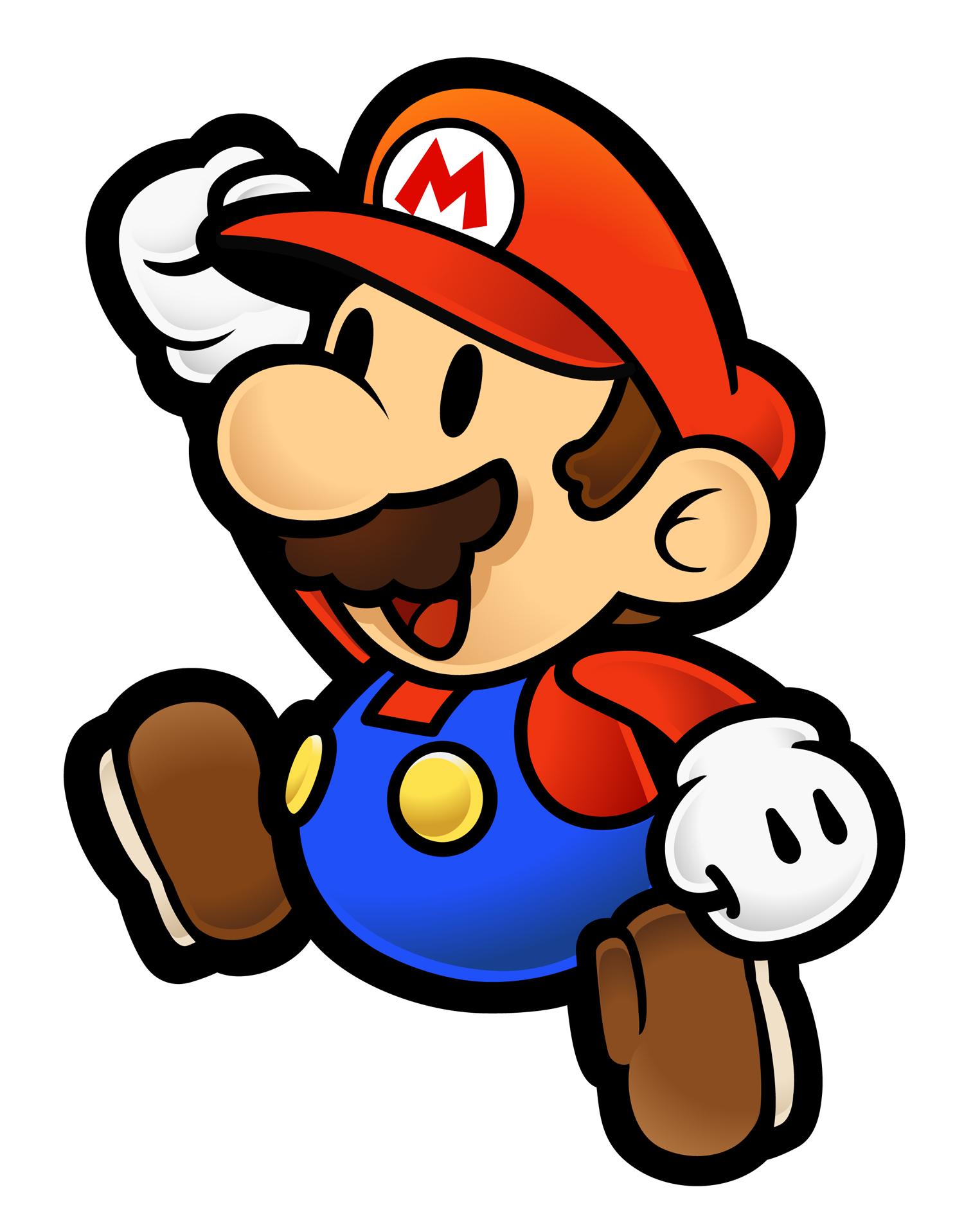 1500x1917 Super Paper Mario (Game)