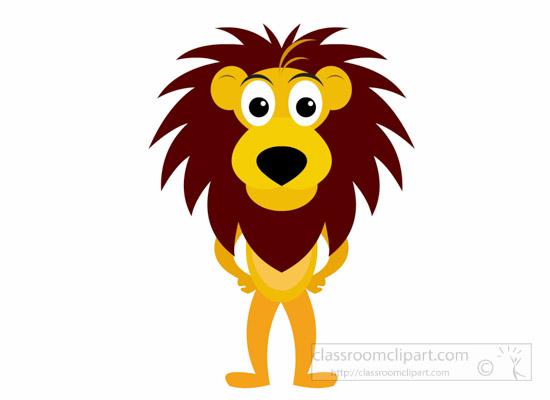 550x400 Lion Clipart Clipart Cartoon Lion Wild Animal Clipart
