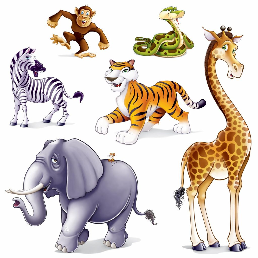 1024x1024 Collection Of Wild Animals Clipart High Quality, Free