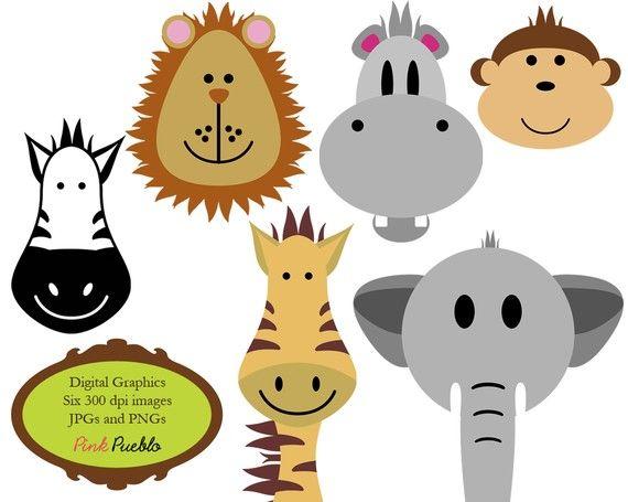 570x455 Animals Clip Art Clipart Zoo Jungle Safari Wild Animals Clip Art