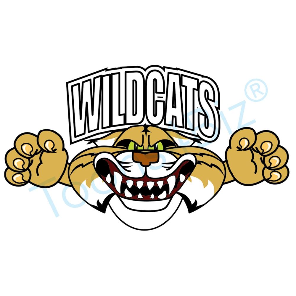 1000x1000 Wildcat Mascot Logo Design