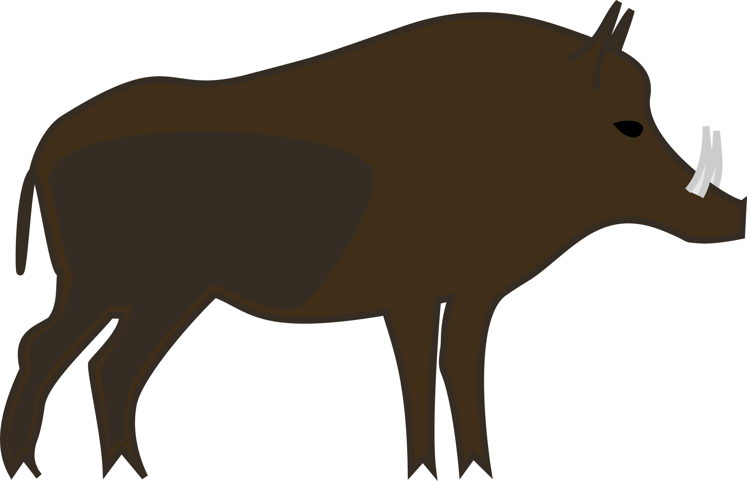 2400x1546 Clip Art Wild Boar Clip Art Wild Boar Clip Art