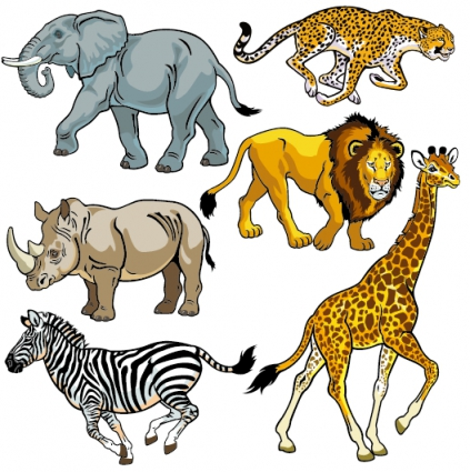 423x425 Clipart Pictures Of Wild Animals 101 Clip Art