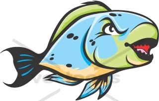 320x204 Wild Parrot Fish Animals Buy Clip Art Illustrations Clipart