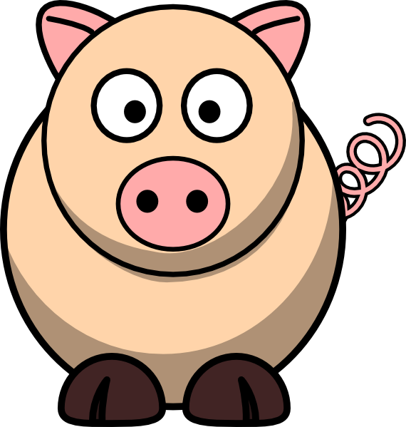 570x599 Collection Of Pig Snout Clipart High Quality, Free Cliparts