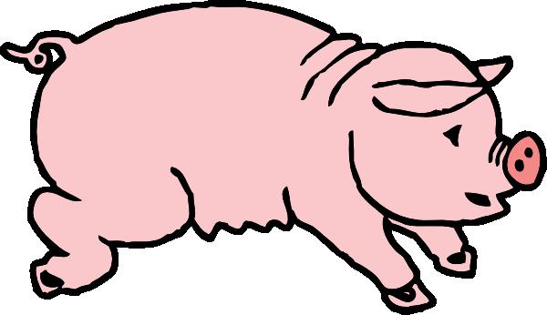 600x346 Pig Clip Art Free Clipart Images 2