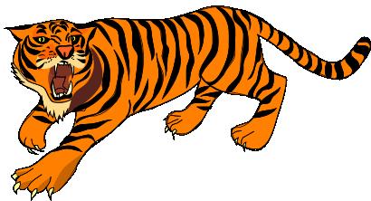 410x222 Top 85 Tiger Clipart