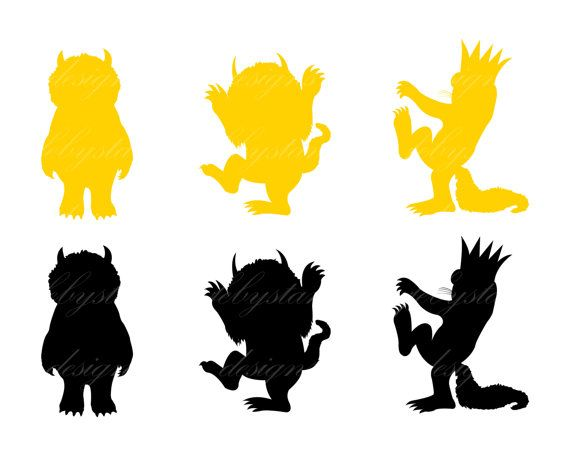 Wild Things Clipart