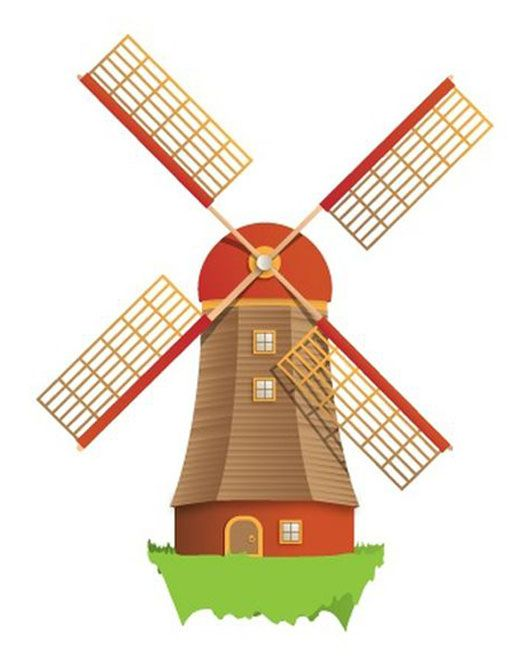 530x668 Wild West Clipart Windmill Free Collection Download And Share