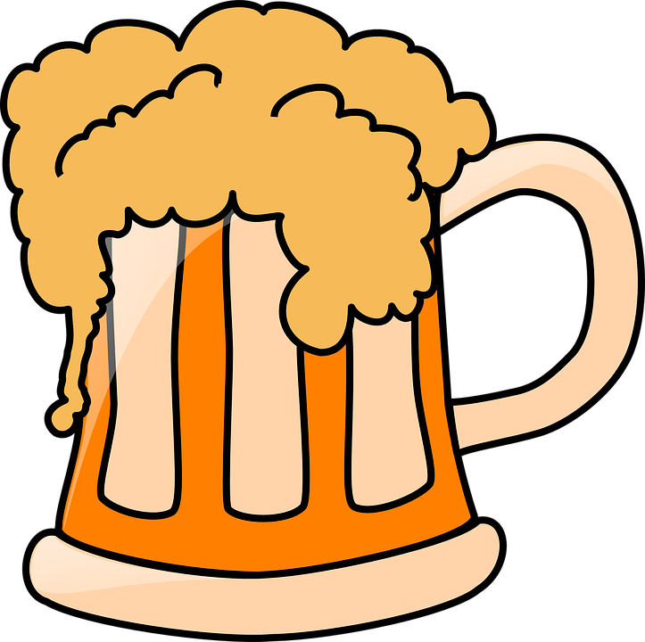 723x720 Foam Clipart Beer