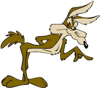 Wile E Coyote Clipart