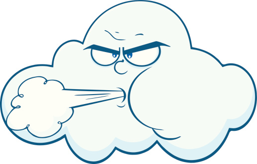 517x331 Wind Clipart Wind Cloud
