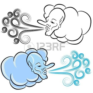 300x300 North Wind Blowing Clipart Free Images