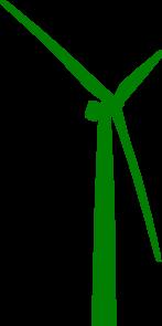 147x295 Smartness Wind Turbine Clipart Green Clip Art At Clker Com Vector