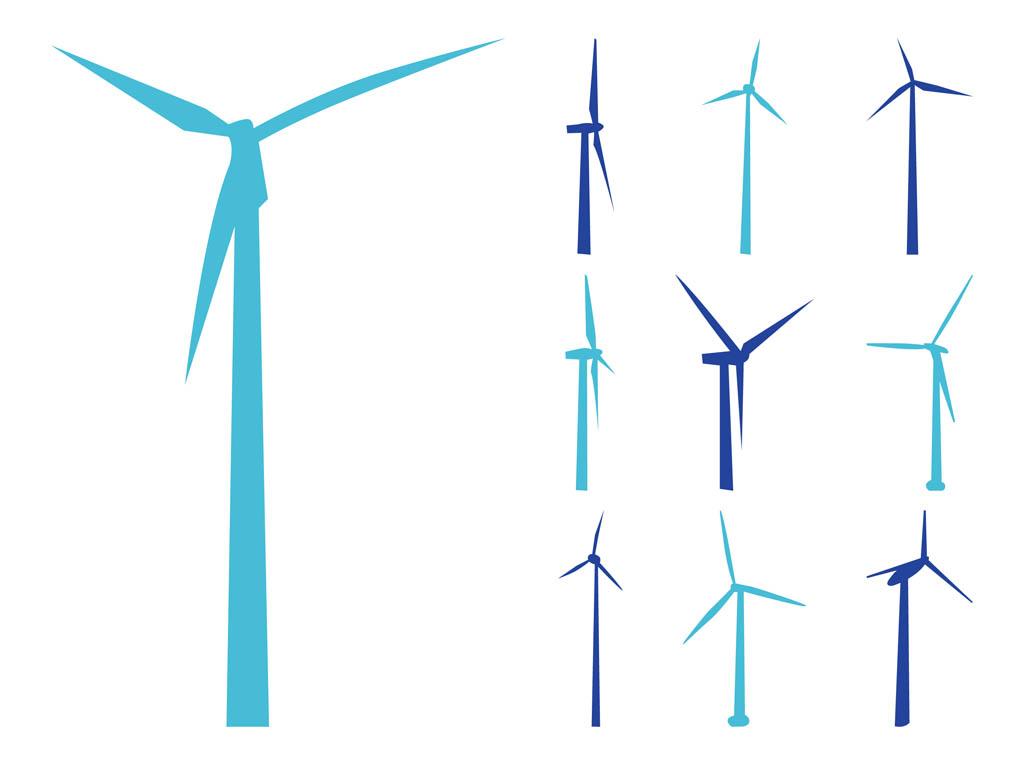 1024x765 Wind Generator Clipart