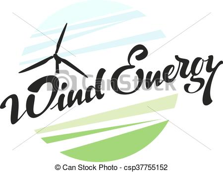 450x346 Wind Energy Illustration In Vector Format Clipart Vector