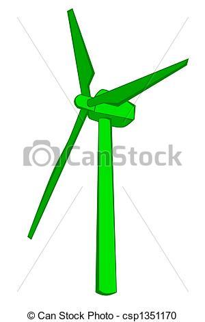 300x470 Windmill Clipart Green