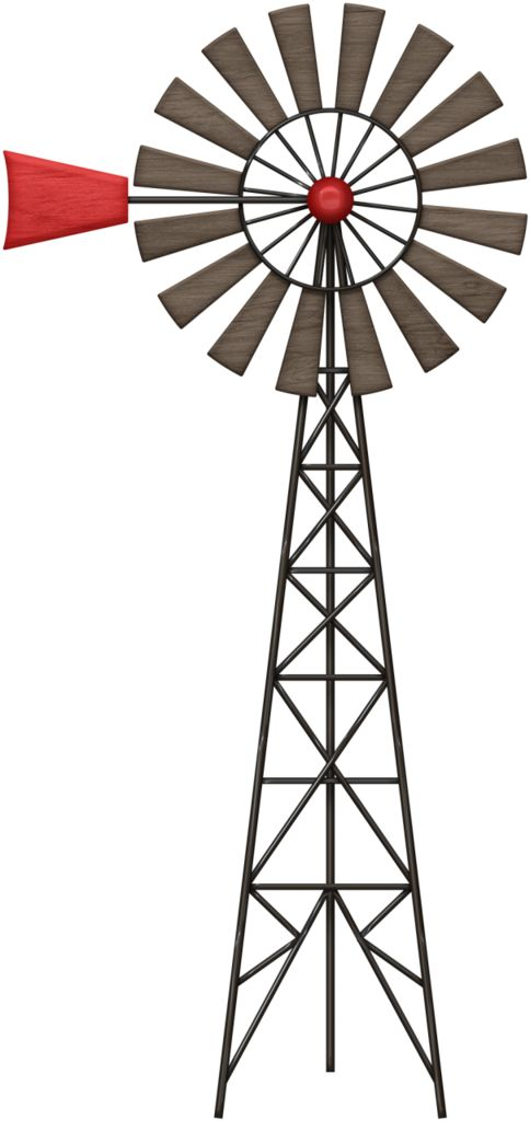 Wind Turbine Clipart