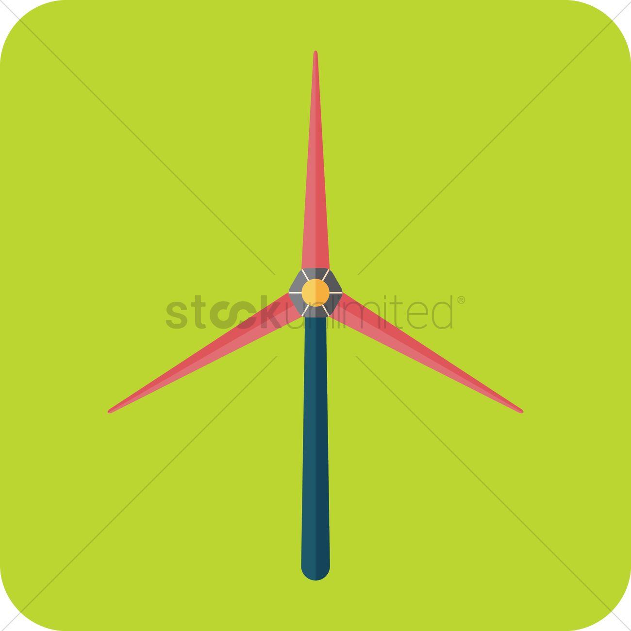 1300x1300 Wind Turbine Renewable Energy Icon Vector Image
