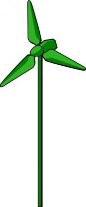 177x425 Energy Positive Wind Turbine Green Clip Art Vector Clip Art Free