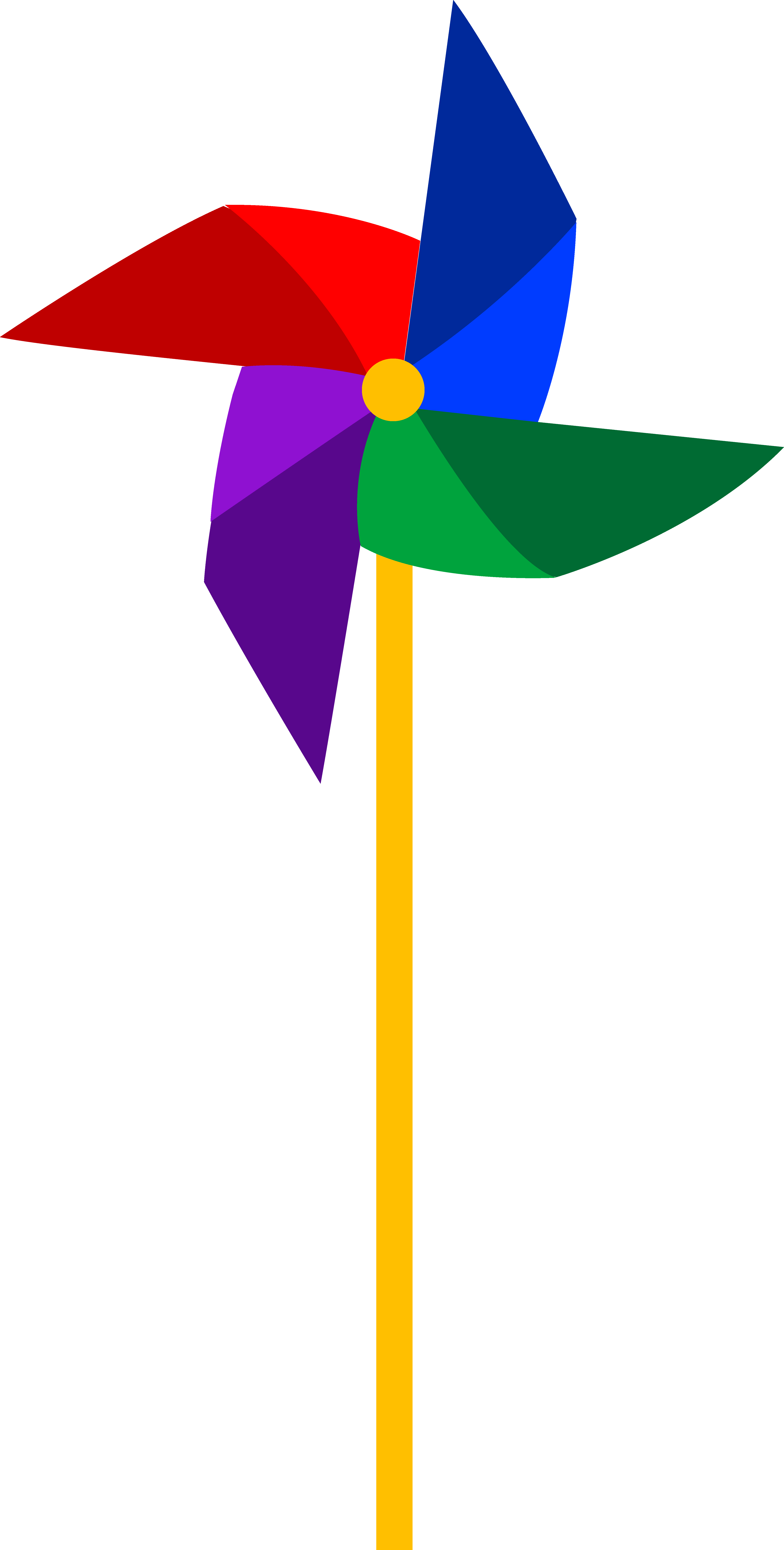 4713x9315 Clip Art Of A Colorful Pinwheel Toy Sweet Clip Art