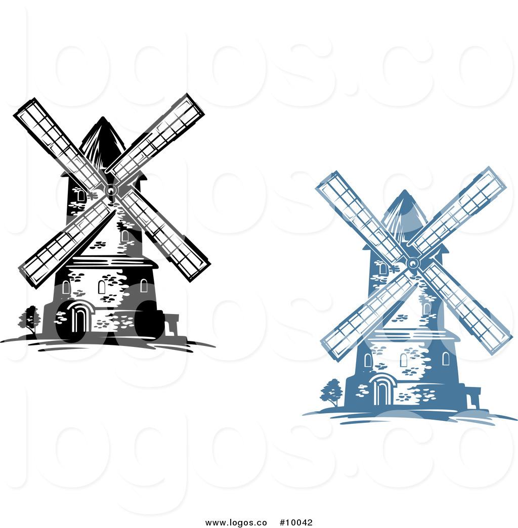 1024x1044 Royalty Free Vector Of Windmill Logos By Vector Tradition Sm