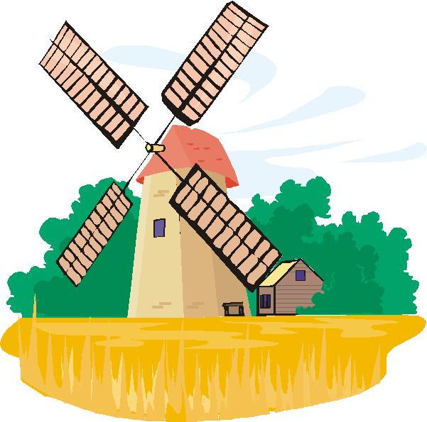 601x595 Windmill Clipart Dutch Collection