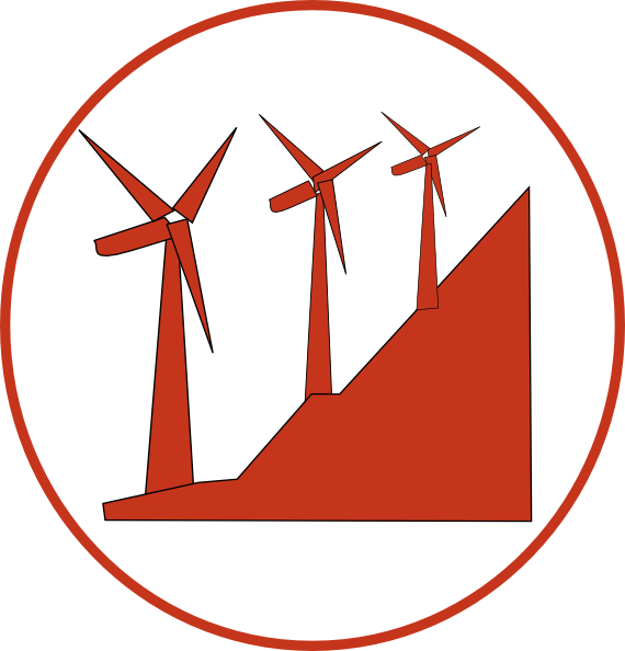 570x594 Windmills Clip Art