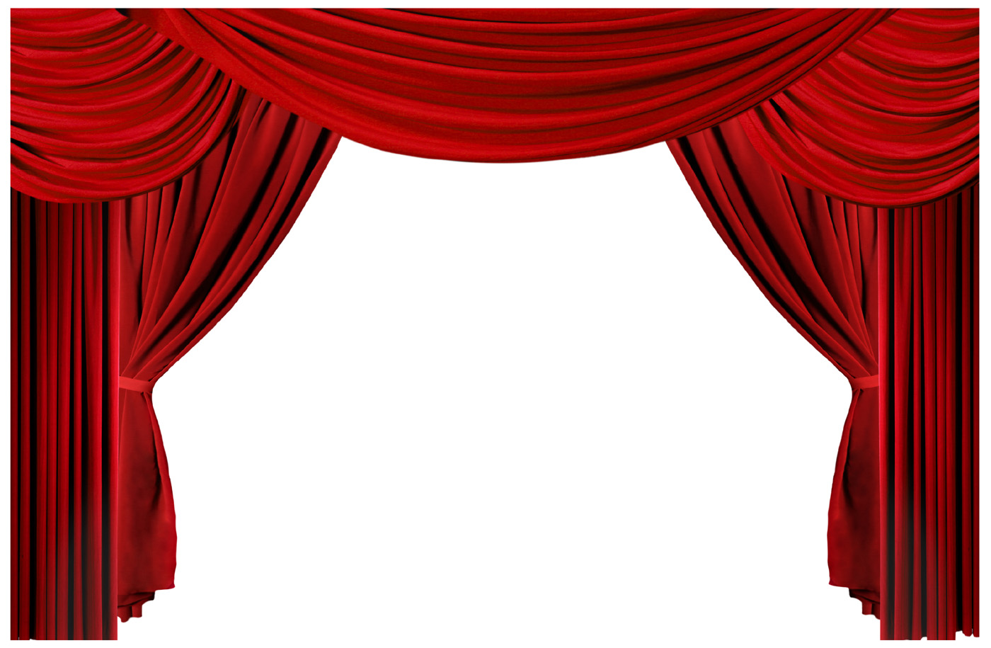 1400x915 Curtains Clipart