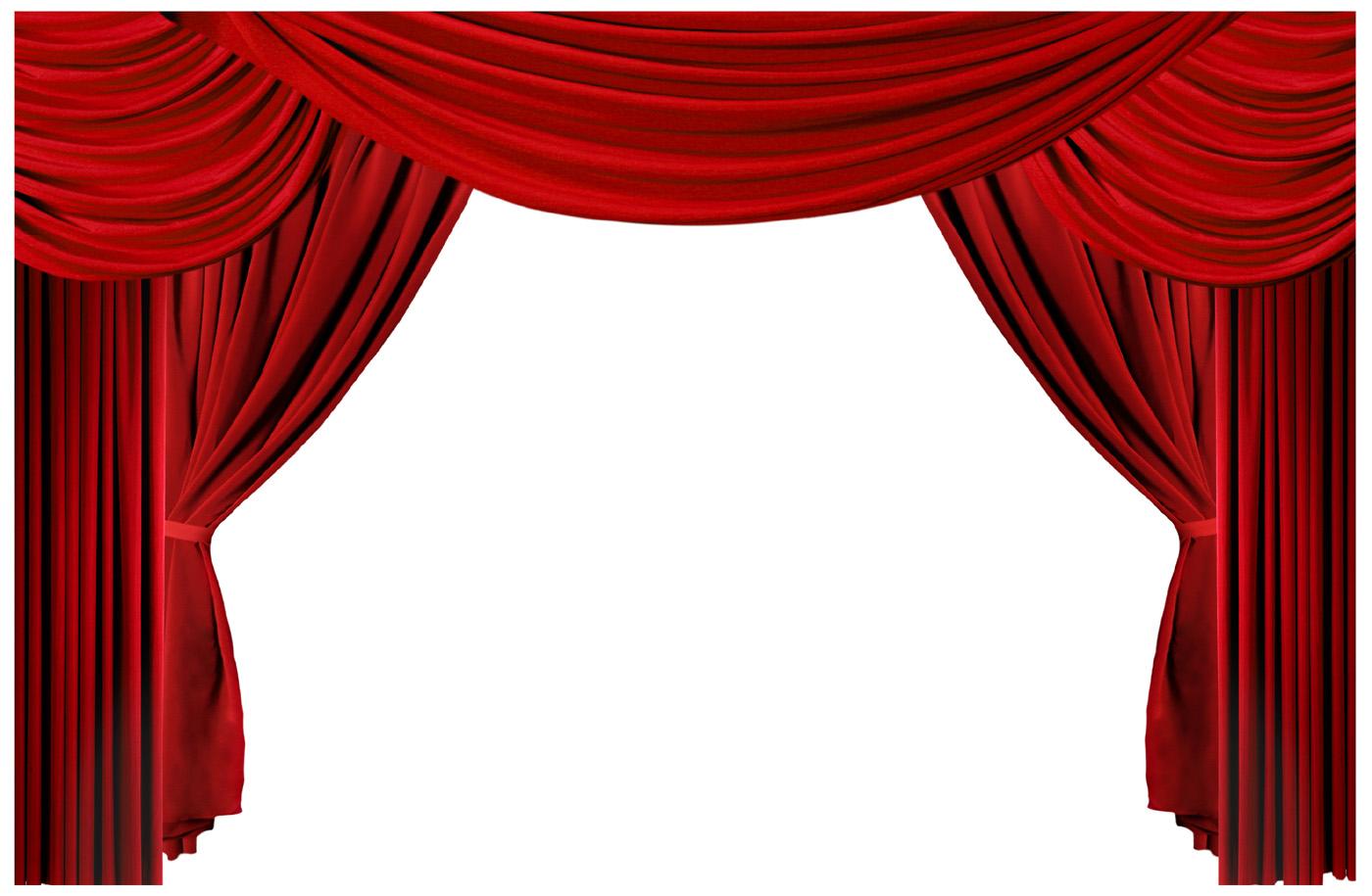 1400x915 Curtains clipart