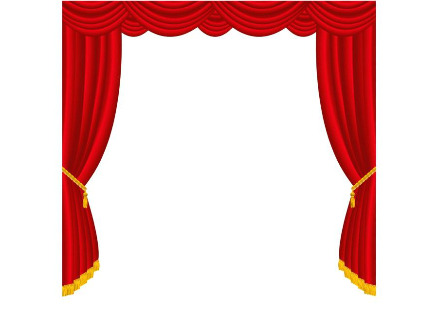 900x640 Curtain Clip Art Movie Curtain Clipart