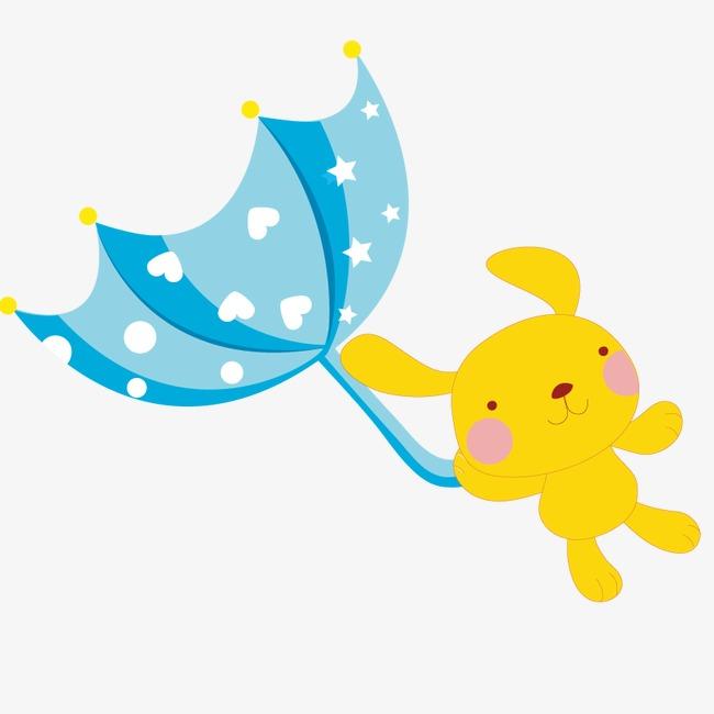 650x650 Animal Vector Windy Day, Fly Away, Cartoon, Umbrella Png