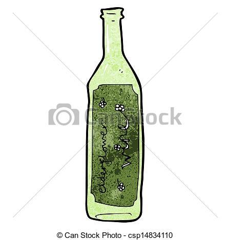 449x470 Cartoon Wine Bottle Vector Clip Art