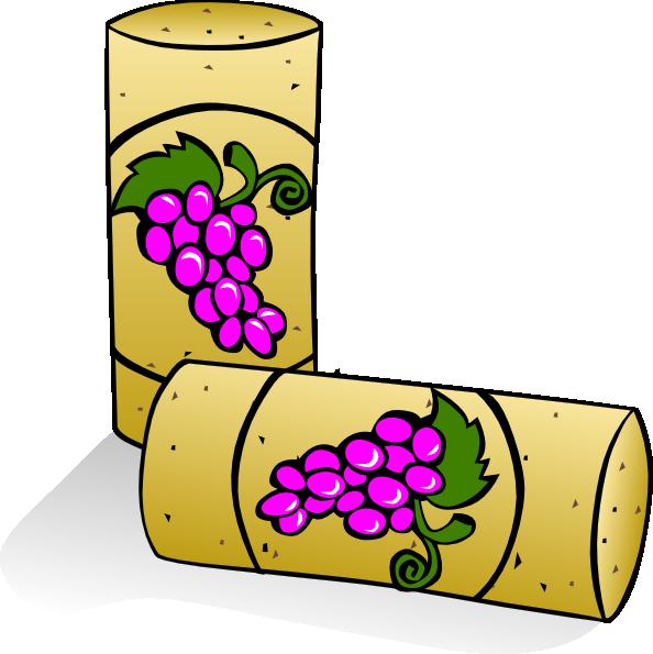594x595 Wine Corks Clip Art Free Vector 4vector