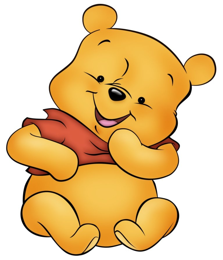 767x894 Pooh Baby Clipart